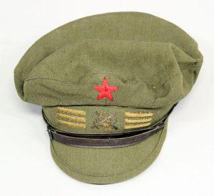 Espanjan tasavaltalaisarmeijan koppalakki, joka oli Paavo Koskisen käytössä.