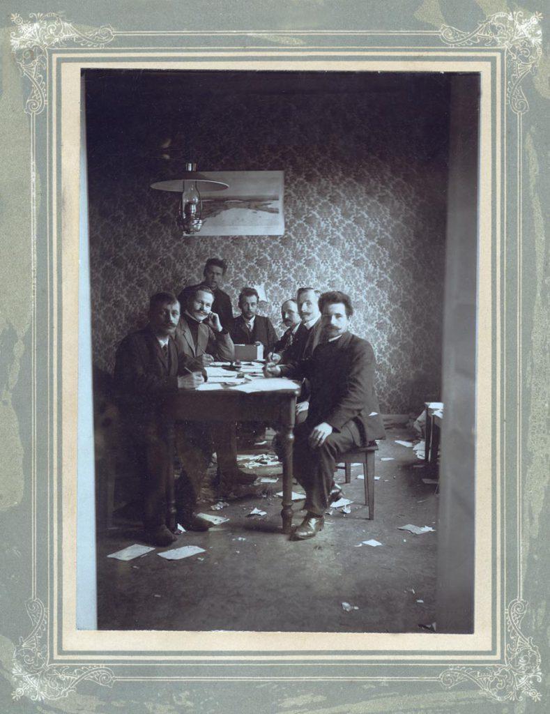 Suurlakon aikainen kauppa- ja teollisuuskomitea marraskuussa 1905.